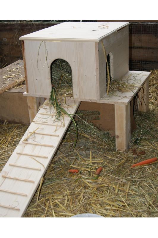 h uschen f r kaninchen oder meerschweinchen juke. Black Bedroom Furniture Sets. Home Design Ideas
